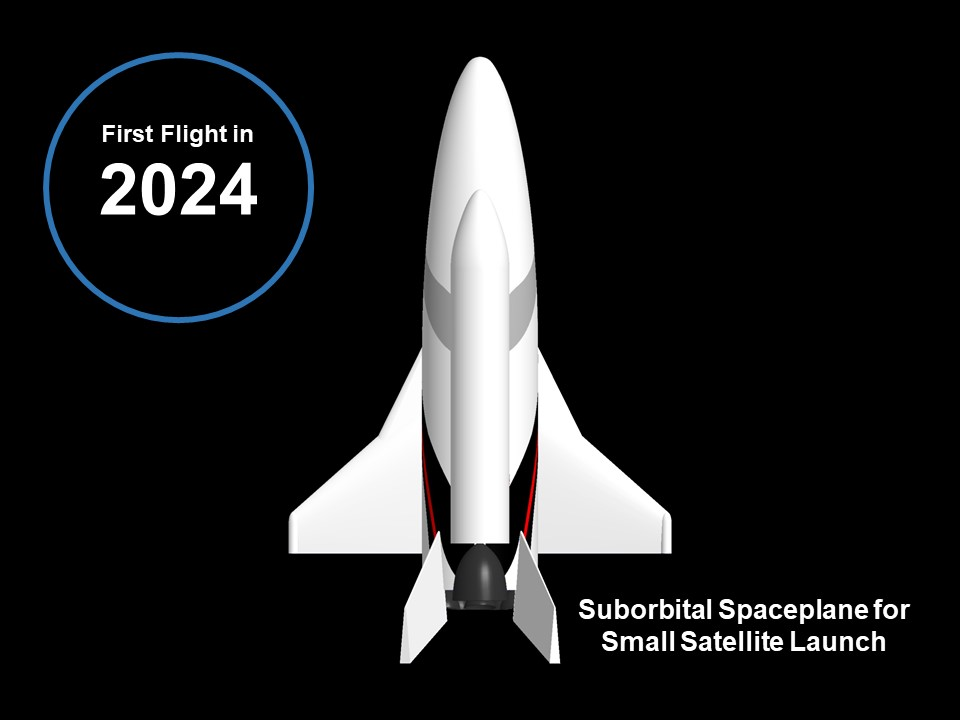 Suborbital Spaceplane<br>(Small Satellites Launch)