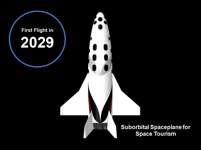 Suborbital Spaceplane<br>(Space Tourism)
